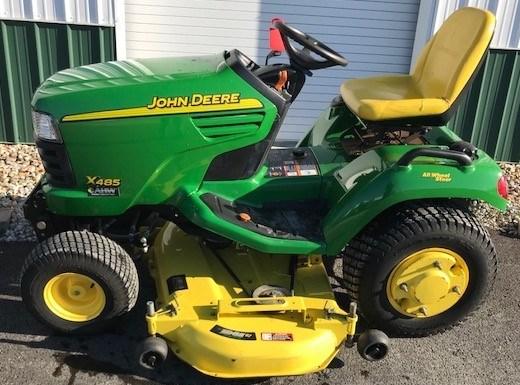 2002 John Deere X485 Riding Mower For Sale