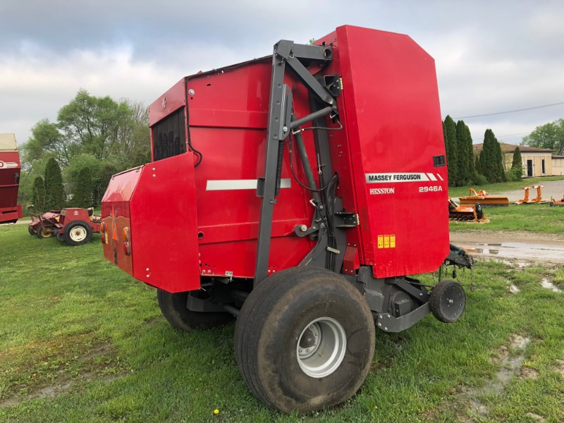 2015 Massey Ferguson 2946A Baler-Round For Sale