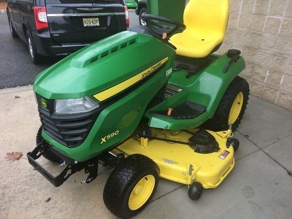 John Deere X590 54A Riding Mower For Sale