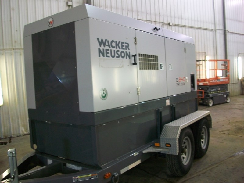 2012 Wacker G240, 1902 Hr, Liq-Cool/6 Cyl JD Eng, 191kW Output Generador a la venta