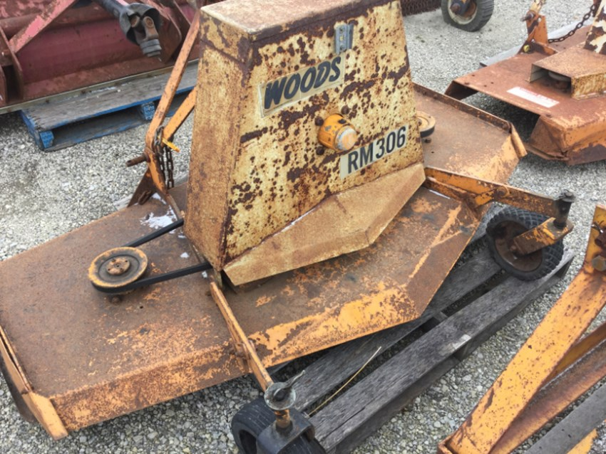 1978 Woods RM306-1 Finishing Mower For Sale » Streacker