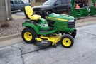 Riding Mower For Sale:  2017 John Deere X738 , 25 HP