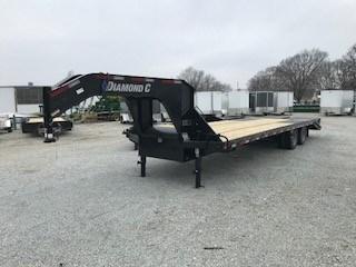 2018 Diamond C FMAX210 Equipment Trailer For Sale