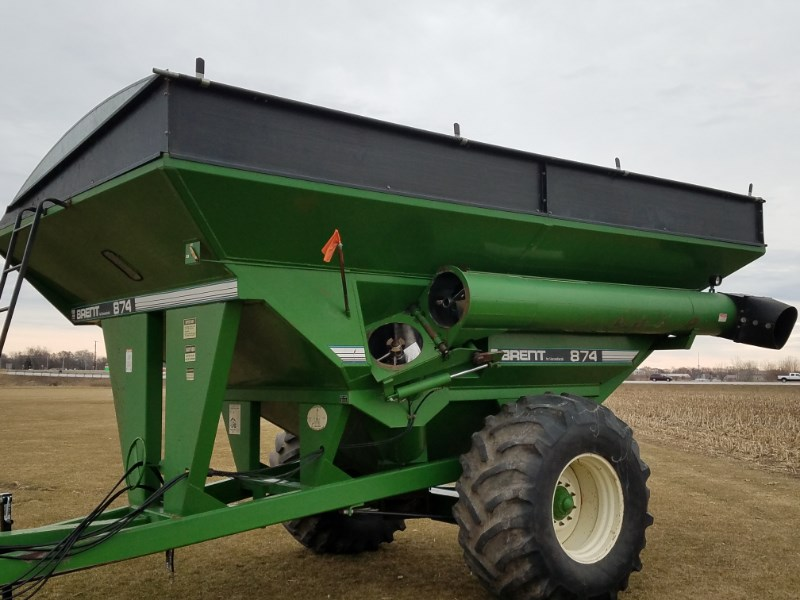 1994 Brent 874 Grain Cart For Sale
