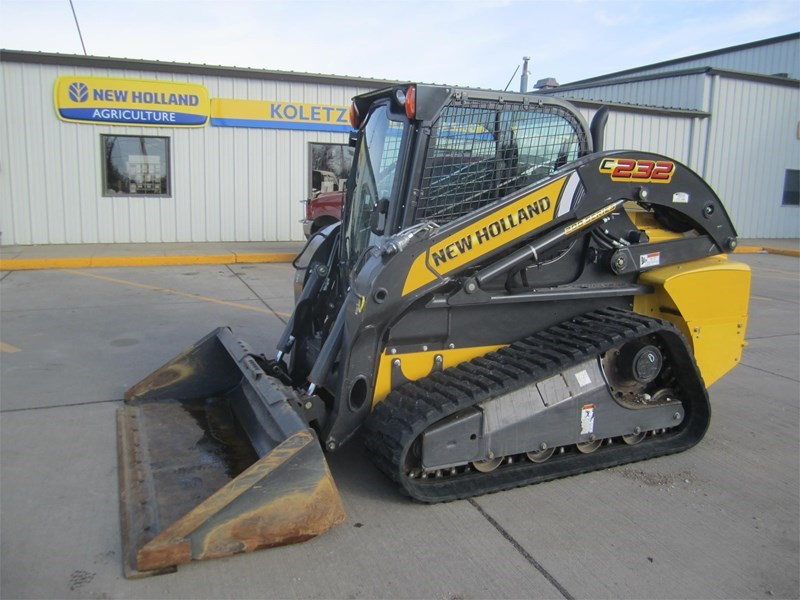 2015 New Holland C232 Skid Steer-Track For Sale