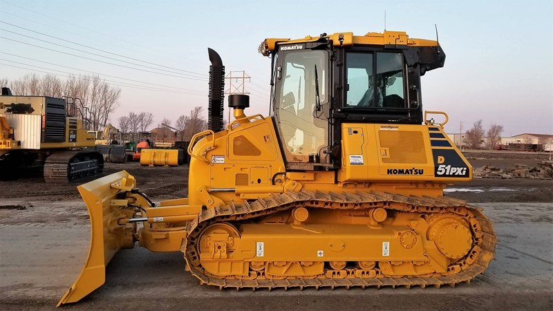 2018 Komatsu D51PXI-24 Crawler Tractor For Sale