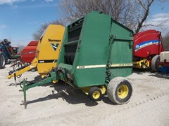 Baler-Round For Sale 1988 John Deere 530