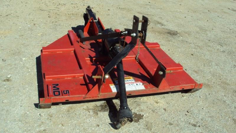 Kodiak Well built 3pt 5' Kodiak brush hog mower w/ slip c Rotary Cutter For Sale