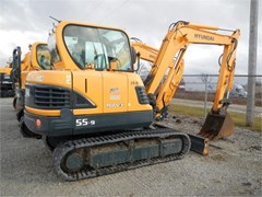 Excavator-Track  2014 Hyundai ROBEX 55-9