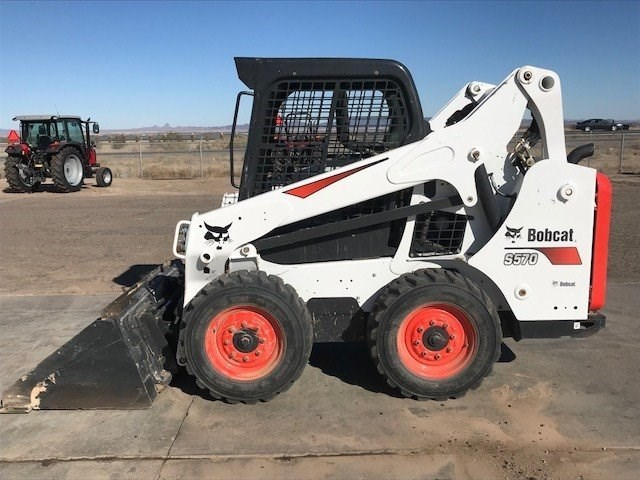 Bobcat S570 T4 Skid Steer For Sale