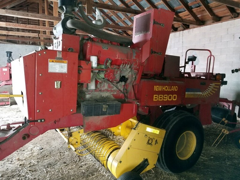 2003 New Holland BB900 Baler-Square For Sale