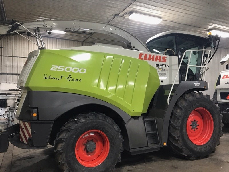 2008 Claas 980 4WD Forage Harvester-Self Propelled For Sale