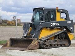 Skid Steer-Track For Sale 2015 John Deere 333E , 97 HP