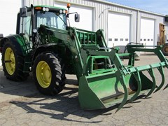Tractor For Sale 2012 John Deere 6430 , 115 HP
