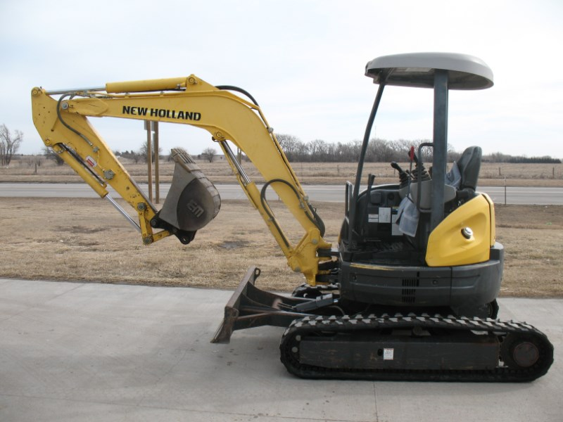 New Holland E35SR Skid Steer For Sale