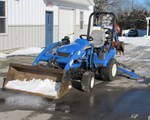 Tractor For Sale: 2007 New Holland TZ22DA, 22 HP