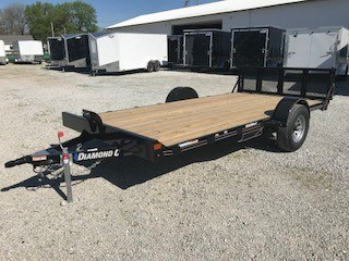2018 Diamond C 33UVT Utility Trailer For Sale