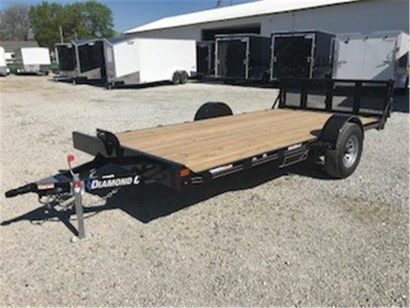 2018 Diamond C 33UVT-14X83 Utility Trailer For Sale