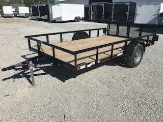 2018 Diamond C 2PSA Utility Trailer For Sale