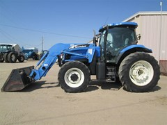 Tractor For Sale 2005 New Holland TS135A , 136 HP