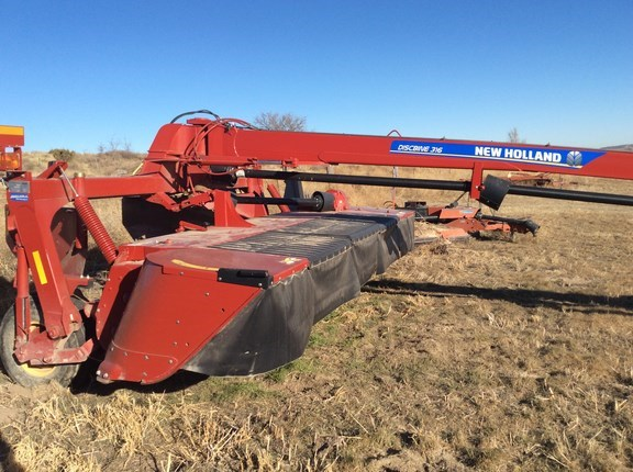 2015 New Holland 316RDB Mower Conditioner For Sale