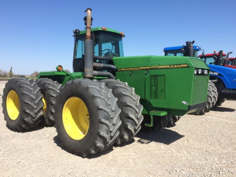1995 John Deere 8970 Tractor For Sale