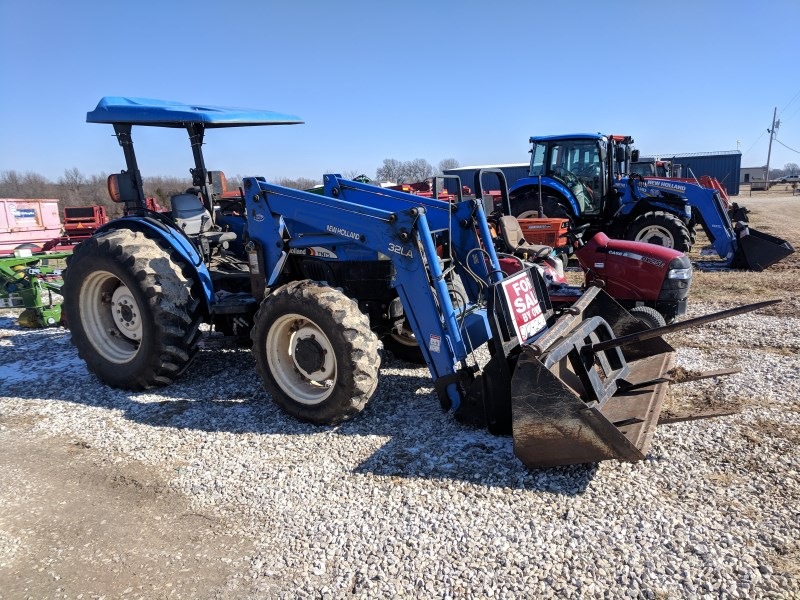 2003 New Holland TN75 Tractor For Sale
