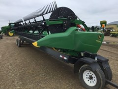 Header-Draper/Flex For Sale:  2017 John Deere 640FD