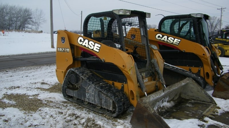 2012 Case TR270 Skid Steer-Track For Sale