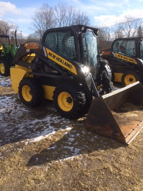 2014 New Holland L223 Skid Steer For Sale