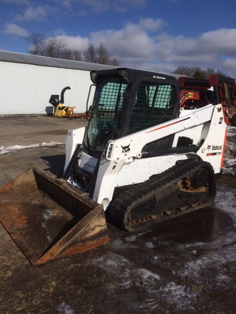2013 Bobcat T630 Skid Steer For Sale