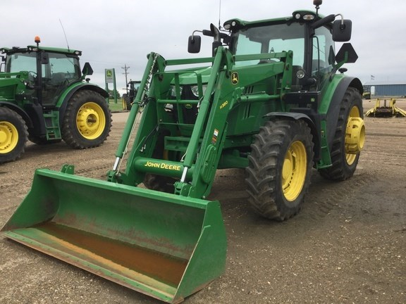 2014 John Deere 6150R Tractor For Sale