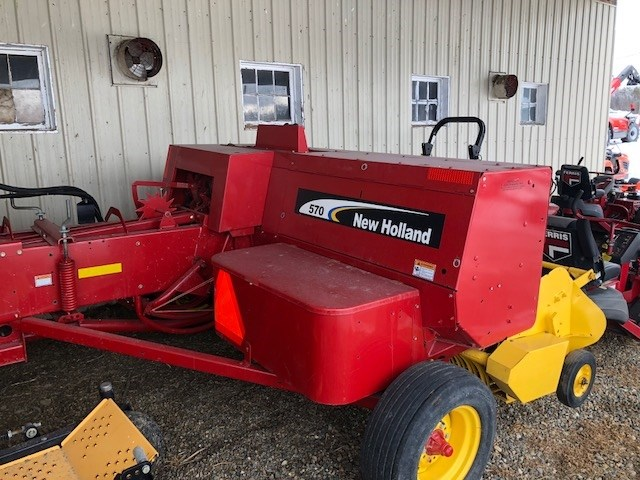 New Holland 570 Baler-Square For Sale