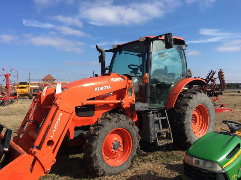 2015 Kubota m100gx Tractor For Sale