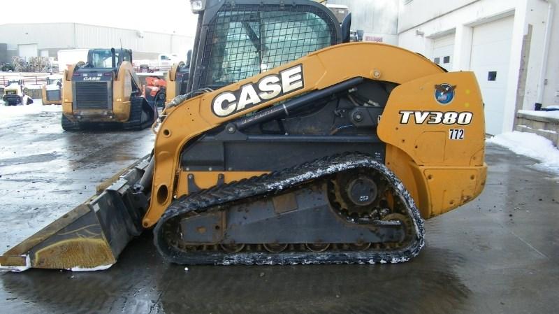 2015 Case tv380 Skid Steer-Track For Sale