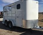 Horse Trailer For Sale: 2012 Delta Manufacturing