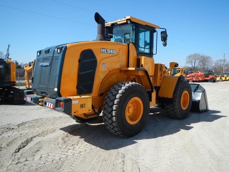 2016 Hyundai HL940 Wheel Loader