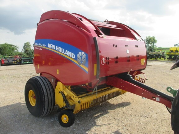 2016 New Holland Rollbelt 560 Baler-Round For Sale