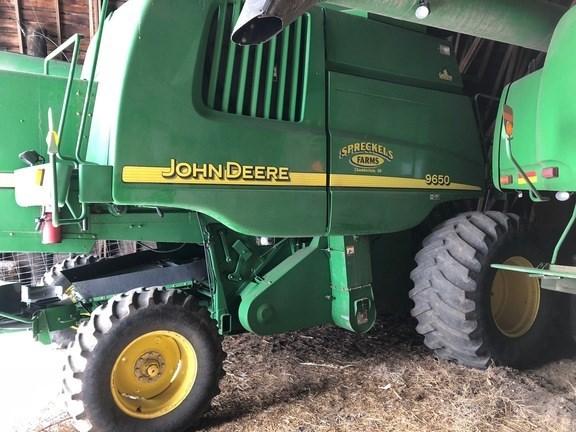 2002 John Deere 9650W Combine For Sale