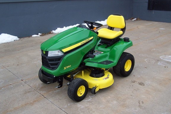 2016 John Deere X350 Riding Mower For Sale