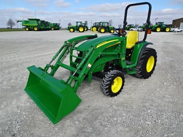2011 John Deere 3720 Tractor - Compact For Sale