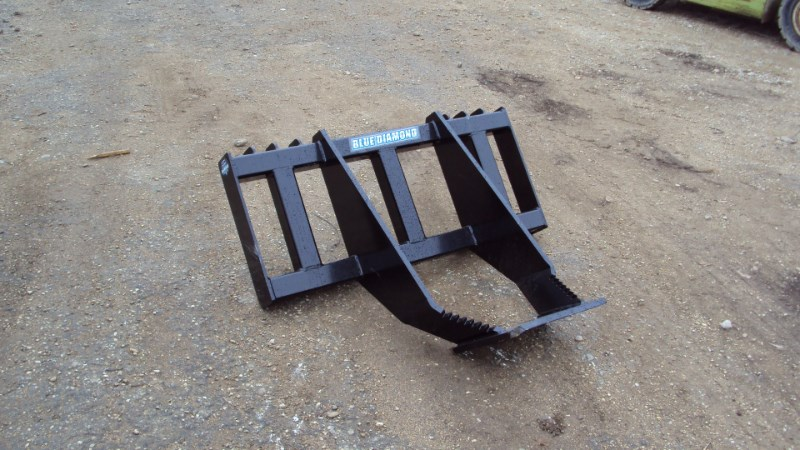 Blue Diamond Skid steer tree / root grubber Skid Steer Attachment For Sale