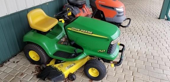 1998 John Deere LT166 Riding Mower For Sale