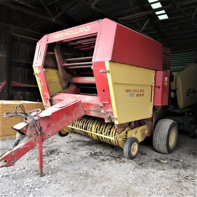 1987 New Holland 853 Baler-Round For Sale