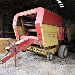 Baler-Round For Sale 1987 New Holland 853