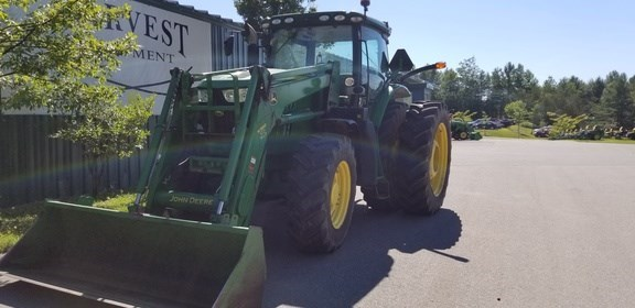 2014 John Deere 6210R Tractor For Sale
