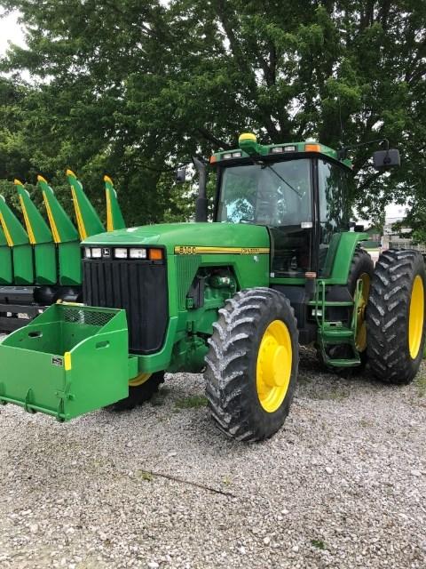 1996 John Deere 8100 Tractor For Sale