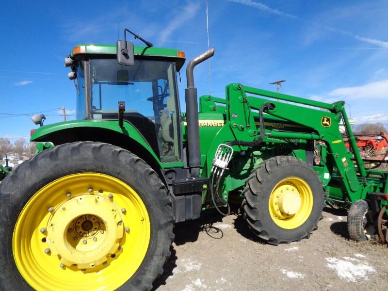 2003 John Deere 8220 Tractor For Sale