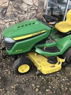 Riding Mower For Sale:  2016 John Deere X584