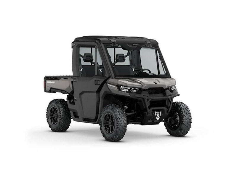 2018 Can-Am 2018 DEFENDER HD8 W/CAB SILVER  SKU # 8UJA Utility Vehicle For Sale